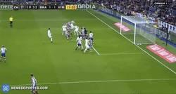 Enlace a GIF: Gol de Ramos que empata el partido
