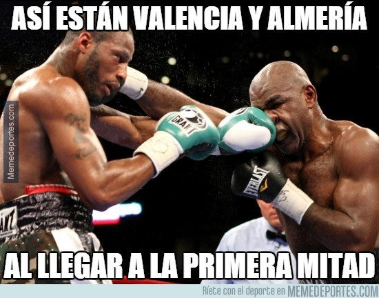 435872 - Así están Valencia y Almería