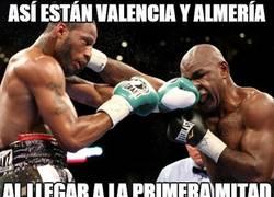 Enlace a Así están Valencia y Almería