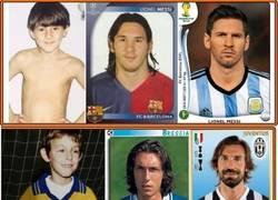 Enlace a Evolución de leyendas del fútbol