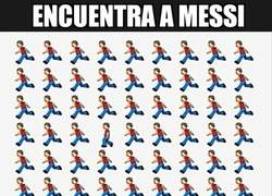Enlace a Encuentra a Messi