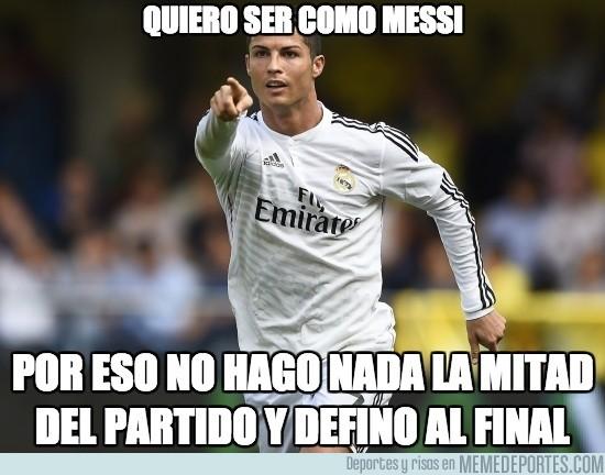 436209 - Cristiano ya empieza a jugar como Messi