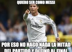 Enlace a Cristiano ya empieza a jugar como Messi