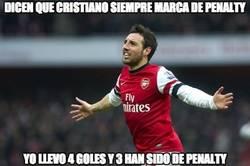 Enlace a Dicen que Cristiano siempre marca de penalty