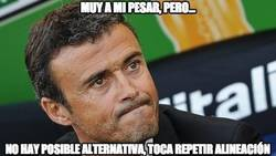 Enlace a Tras 29 partidos, Luis Enrique repite alineación