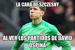 Enlace a Ospina le quita el puesto a Szczęsny, por listo
