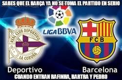 Enlace a Sabes que el Barça ya no se toma el partido en serio
