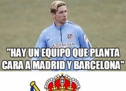 Enlace a Torres, creo que te equivocas de equipo