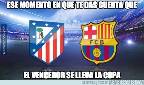 437124 - Atlético de Madrid vs Barcelona, final anticipada