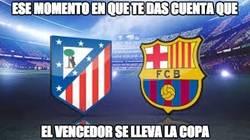Enlace a Atlético de Madrid vs Barcelona, final anticipada