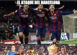 Enlace a Los ataques de Barça y Atleti para el partidazo de esta noche