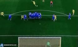 Enlace a GIF: En el otro partido de Copa ya jugado, golazo de Bruno Soriano al Getafe