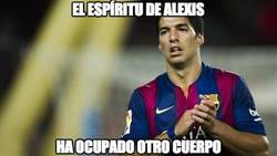 Enlace a El espíritu de Alexis ha ocupado a Luis Suárez
