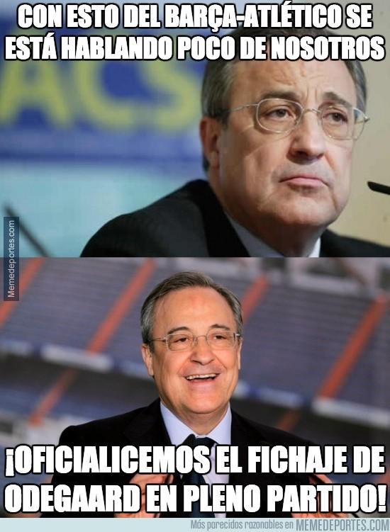 437435 - Con esto del Barça-Atlético se está hablando poco de nosotros