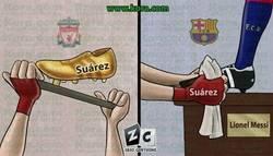 Enlace a La situación de Luis Suárez antes y después