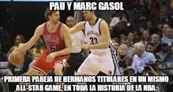 Enlace a Pau y Marc Gasol, historia viva de la NBA