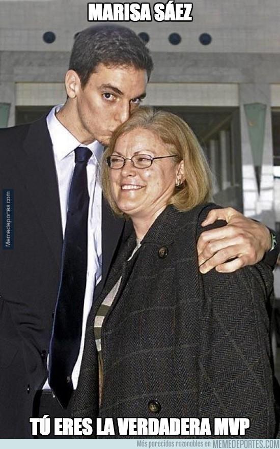 437778 - La verdadera MVP es la madre de los Gasol
