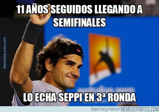 437864 - Federer ya no es el mismo. Se queda fuera del Australia Open