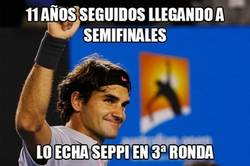 Enlace a Federer ya no es el mismo. Se queda fuera del Australia Open