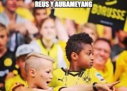 Enlace a Mini Reus y Aubemeyang