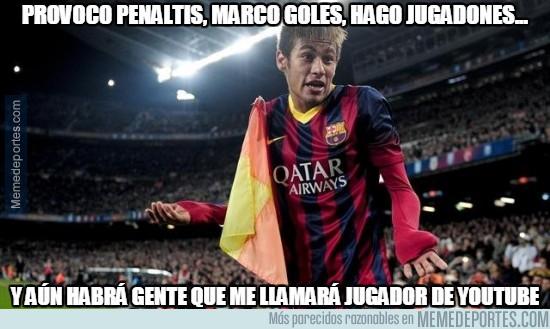 438544 - Neymar lo peta, pero lo seguirán criticando