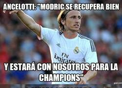 Enlace a Modric ya tiene fecha de recuperación, pobre Schalke, les toca a ellos