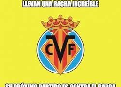 Enlace a ¿Seguirá el Villarreal con su racha ante el Barça?