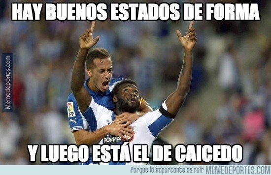 439481 - Caicedo, 6 goles en 5 partidos