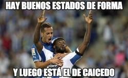 Enlace a Caicedo, 6 goles en 5 partidos