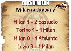 Enlace a Milan, ya vale, alguien tiene que decirlo