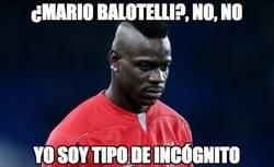 Enlace a ¿Mario Balotelli? No, no