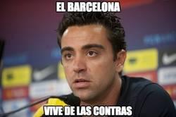 Enlace a El Barcelona vive de las contras