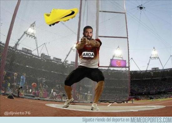 441001 - Arda convocado por Turquía para el equipo olímpico de lanzamiento de Zapatos