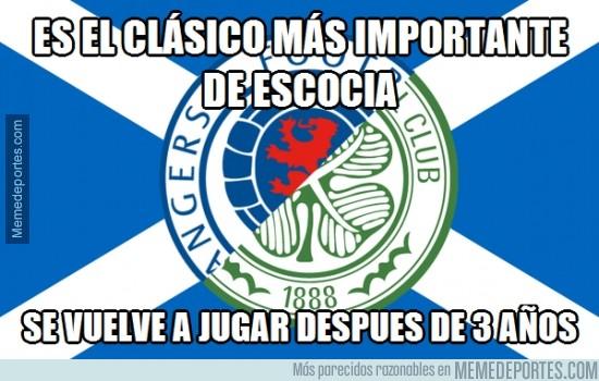 441596 - Rangers vs Celtic. Imagina q no hubiera un Barça-Madrid en 3 años