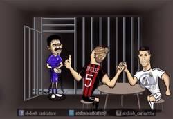 Enlace a Costa se une a Cristiano y a Mexes en prisión