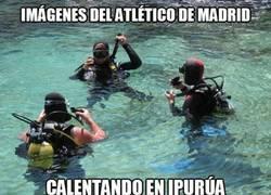 Enlace a ¡Salta a calentar el Atlético en Ipurúa!