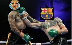 Enlace a El Barça golpea antes y se lleva el primero de los 3 asaltos contra el Villareal