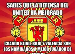 Enlace a 2 defensas y un lateral, los nominados a MVP del United