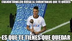 Enlace a Cuando Ronaldo ruega al Corinthians que te quedes