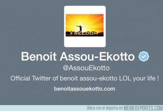 443726 - Assou Ekotto termina su contrato con el Tottenham y pone esta imagen en Twitter