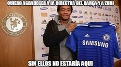 Enlace a Gracias a Zubi, Cuadrado ha terminado en el Chelsea