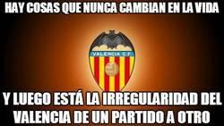 Enlace a ¿El Valencia irregular? Para nada