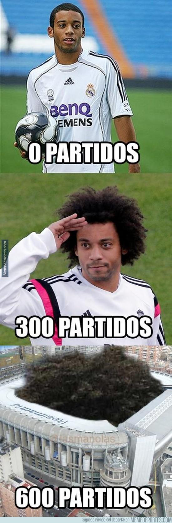 444103 - Marcelo llega a los 300 partidos con el Real Madrid