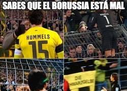 Enlace a Lo del Borussia es realmente triste