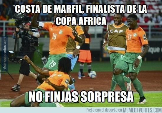 444574 - Costa de Marfil a la final africana