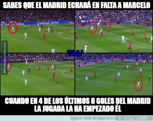 444953 - ¿El Real Madrid echará en falta a Marcelo?