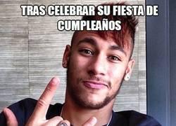 Enlace a Neymar sigue absolutamente todos los pasos de Ronaldinho