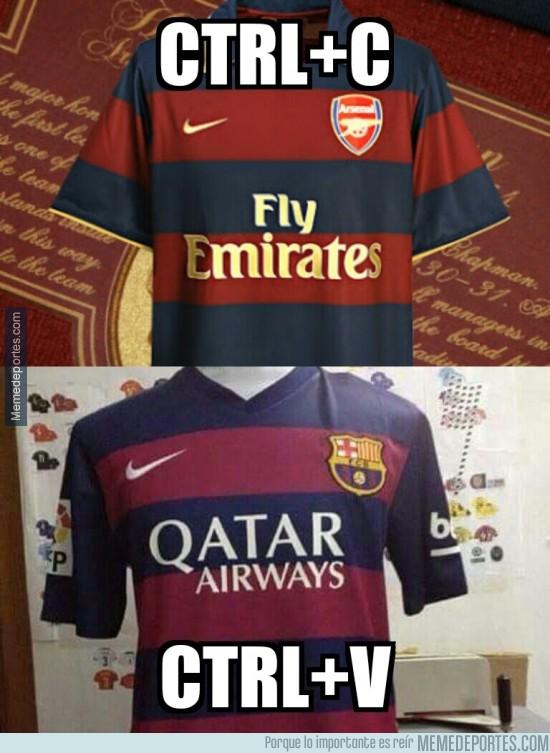 445183 - Nike, reutilizando equipaciones para el Barça desde tiempos inmemoriales