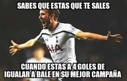 Enlace a Kane lleva 22 goles esta temparada, 4 menos que los que hizo Bale en su mejor campaña con los Spurs