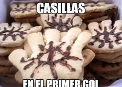 Enlace a Casillas en el primer gol
